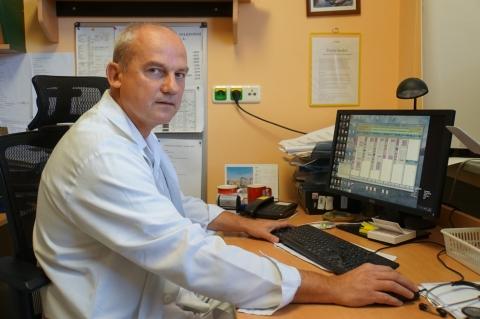 Vedoucí lékař ambulance srdečního selhání v Nemocnici Na Homolce