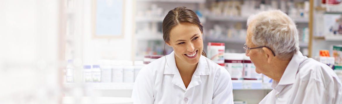 For quick, friendly advice on all your health problems, consult the staff in our pharmacy