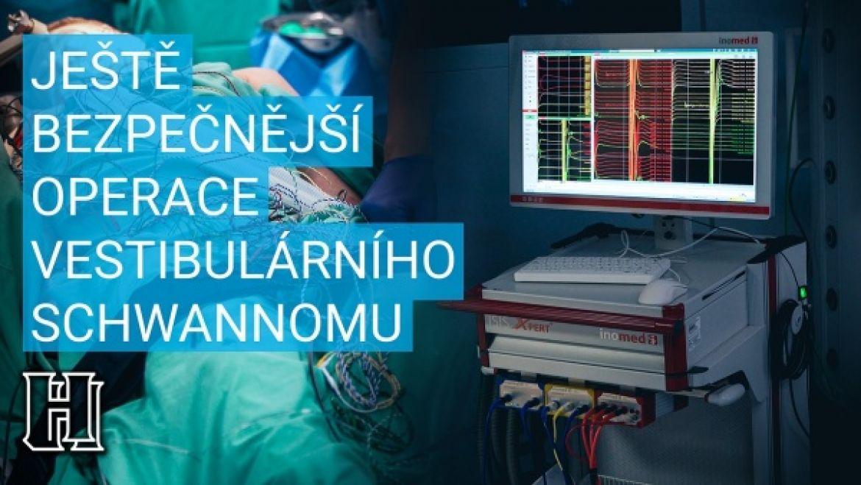 Vestibulární schwannom operace - video
