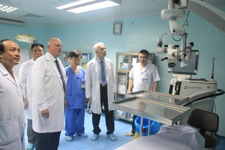 Nemocnice na Homolce - memorandum ve Vietnamu