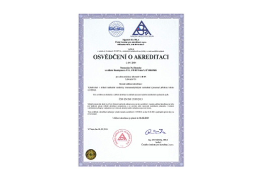 ISO 15189 Nemocnice na Homolce