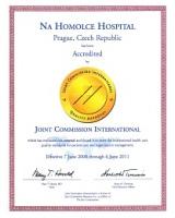 Certifikát JCI2008