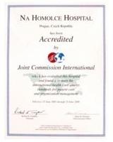 Certifikát JCI2005