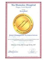 Certifikát JCI2014