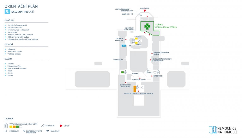 mapa nová lékárna