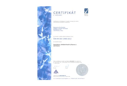 ISO 13485 Nemocnice na Homolce