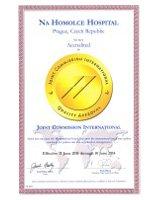 Certifikát JCI2011