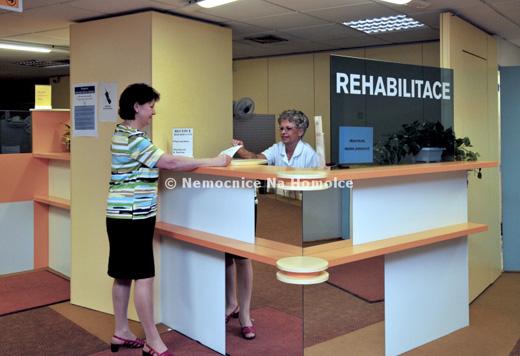 Rehabilitace - Nemocnice na Homolce